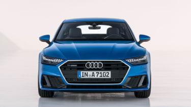 Audi A7 Sportback - full front blue