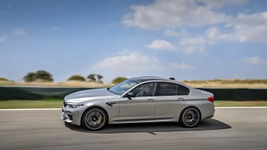 BMW M5 Competition - side