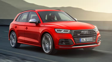 Audi SQ5 2017 - front tracking 2