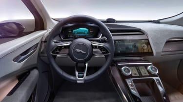 Jaguar I-Pace - studio dash