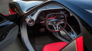 Vauxhall GT - cockpit