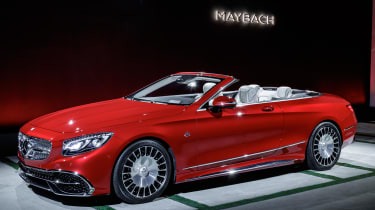 Mercedes-Maybach S650 - show front quarter 2