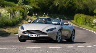 Aston Martin DB11 Volante - front cornering