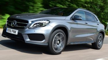 Mercedes GLA - slowest depreciation