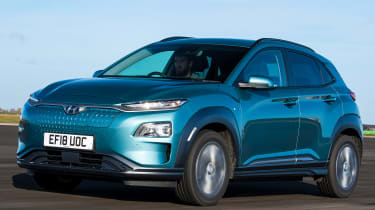 Hyundai Kona Electric - front tracking