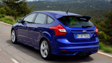 Ford Focus ST-3 rear tracking