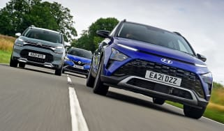 Hyundai Bayon vs Citroen C3 Aircross vs Renault Captur - header