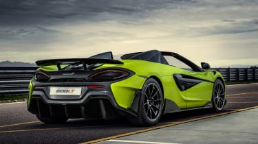 McLaren 600LT Spider - rear static