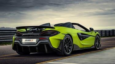 McLaren 600LT Spider - rear static