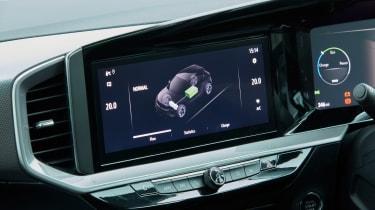 Vauxhall Mokka-e - infotainment