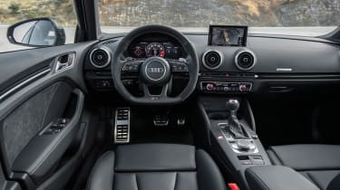 Audi RS3 Saloon 2017 - interior