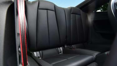 Audi TT RS - rear seats