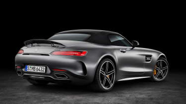Mercedes-AMG GT C Roadster - rear roof up