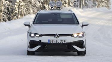 Volkswagen Golf R Estate - front spy