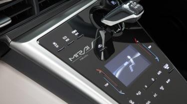Toyota Mirai - centre console