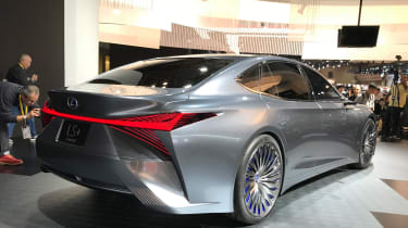 Lexus LS+ Concept - Tokyo rear