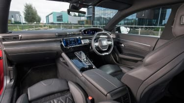 New Peugeot 508 GT 1.6 turbo interior