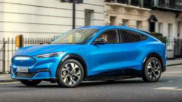 Ford's aiming for big sales from its first proper all-electric vehicle. The Mach-E crossover offers usable range, performance and plenty of kit - as long as you're prepared to pay.