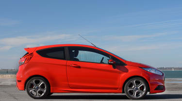 Used Ford Fiesta ST - side