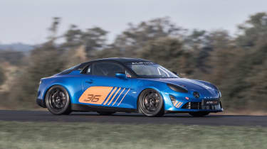 Alpine A110 Cup driving side