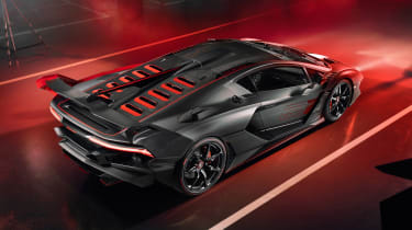 Lamborghini SC18 - rear
