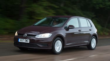 Volkswagen Golf 1.0 petrol - front action