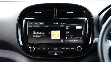 Kia Soul EV - infotainment screen