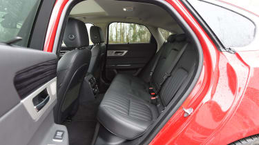 Jaguar XF 2017 - rear seats