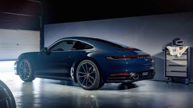 Porsche 911 Belgium Legend Edition - rear 3/4 static
