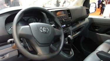 Toyota Proace CV show - interior