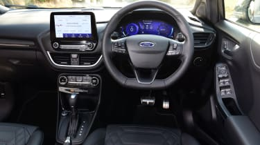 Ford Puma 1.0 Ecoboost ST Line Vignale interior
