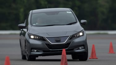 Nissan Leaf prototype - front