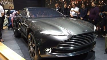 Aston Martin DBX concept at Geneva 2015