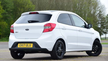 Ford Ka+ White Edition - rear static