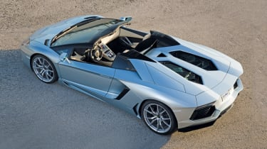 Lamborghini Aventador Roadster rear static