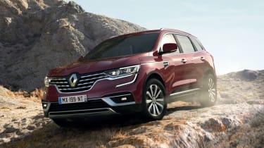 Renault Koleos - front off road