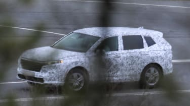 Honda CR-V spied
