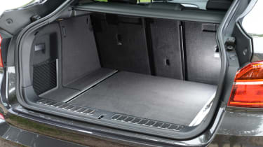 New BMW X4 2014 UK boot