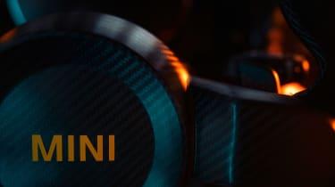 MINI Electric Pacesetter - steering wheel detail