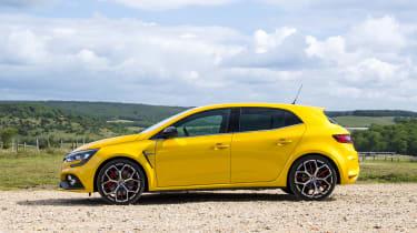 Renault Megane RS 300 Trophy side static