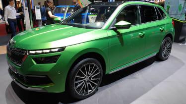 Skoda Kamiq - Geneva green front