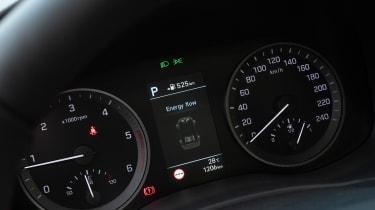 Hyundai Tucson - speedo
