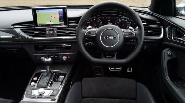 Audi RS6 - interior