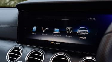 Mercedes E 300 de - long-term review - interior