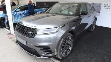 Range Rover Velar ride Goodwood static