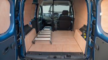 Ply-lined Renault van