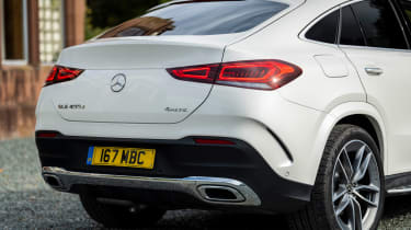 Mercedes GLE Coupe twin test - rear