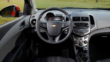 Chevrolet Aveo 1.3 VDCi Eco dash