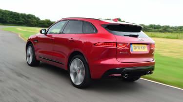 Jaguar F-Pace - rear action