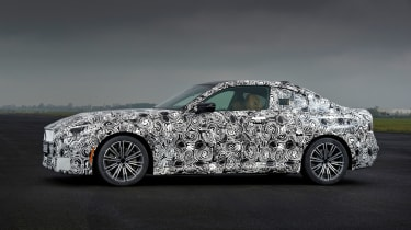 BMW 2 Series Coupe prototype - side static